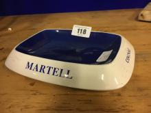 MARTELL Cognac ashtray