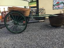Governess Cart built 1910 by KINROSS OF STIRLING, SCOTLAND.