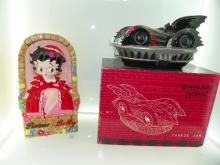 2 PC LOT INCLUDING ROMEO & BETTY BOOP COOKIE JAR & BATM