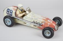 Champion's Racer No. 98 Litho. Tin Toy Race Car