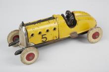 Hubley Cast-Iron & Aluminum Toy Race Car N