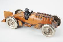 Hubley Marked Cast-Iron Racer - Animated Exhaust