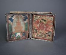 Mongolian Silver Thangka Case
