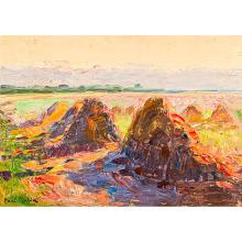 Paul Molda (1884- 1955) - Sunset