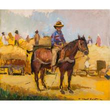 Paul Verona (1897, Herţa, Dorohoi - 1966, Bucureşti) - Harvest time