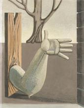 """Gottfried Brockmann - """"Die Geste"""". 1928"""