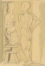 """Gottfried Brockmann - """"Der Gipsabguß ersetzt das Fleisch"""". 1923"""