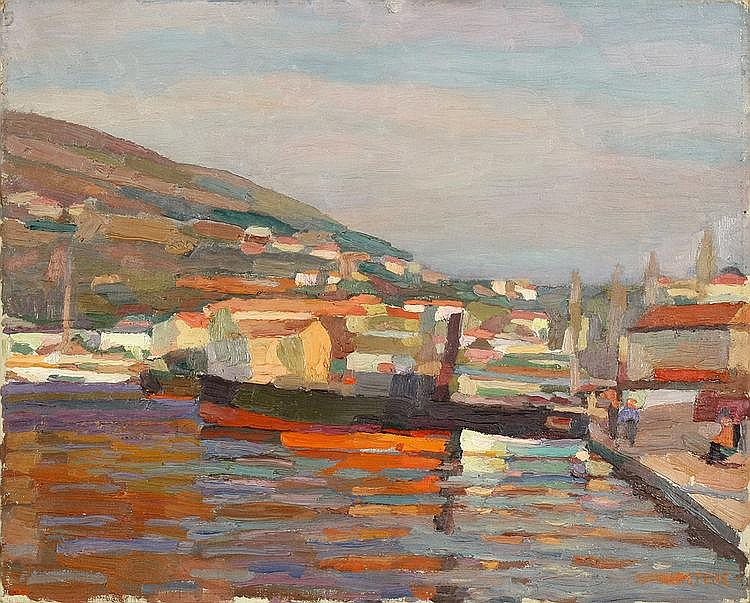 Peters, Udo 1884 - 1964 Oil on canvas