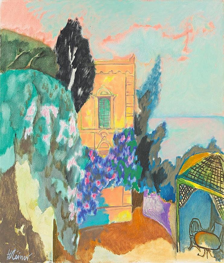 Steiner, Heinrich 1911 - 2009 Oil on canvas