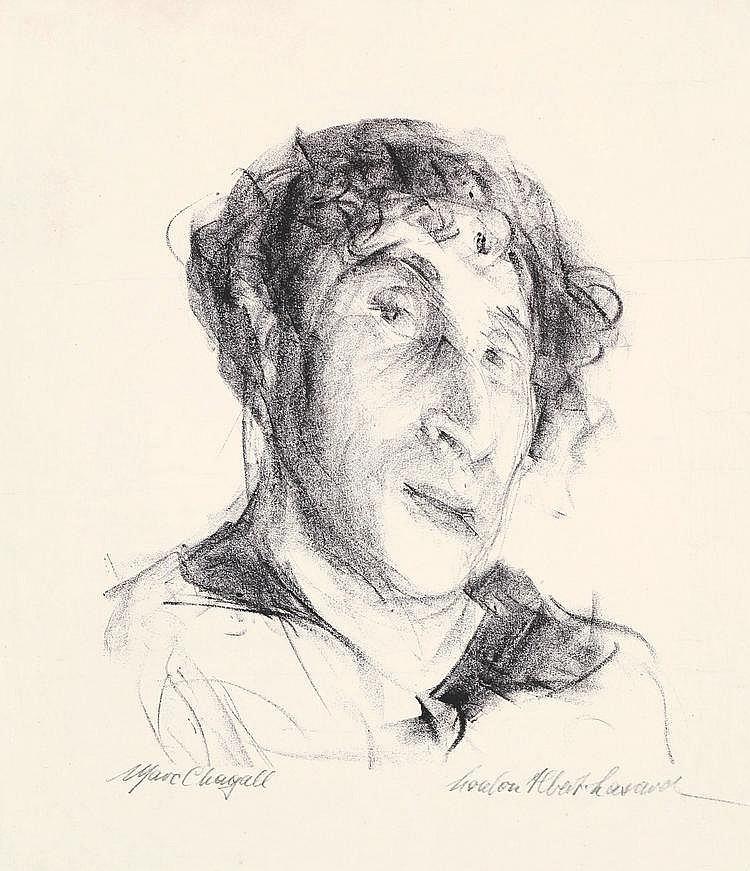 Albert-Lasard (Lazar), Lou(lou) 1885 - 1969 Lithograph on wove paper