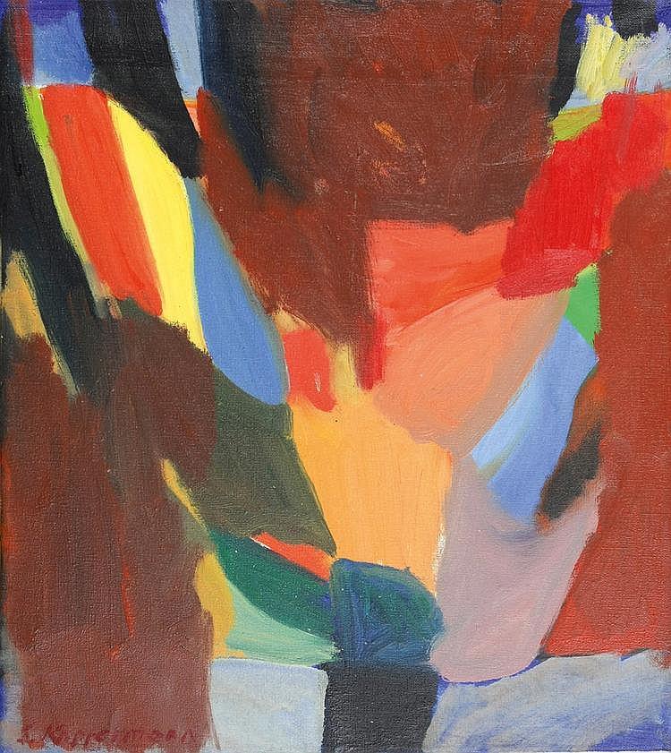 Kopfermann, Sigrid 1923 - 2011 Oil on canvas