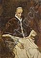 Franz von Lenbach PAPST LEO XIII, Franz von Lenbach, Click for value