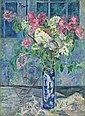 Georg Tappert BLUMEN IN JAPANISCHER VASE, Georg Tappert, Click for value