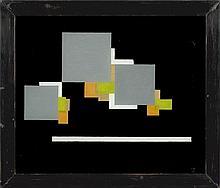 """Carl Buchheister, """"Composition: Fuge, grün, ocker"""""""