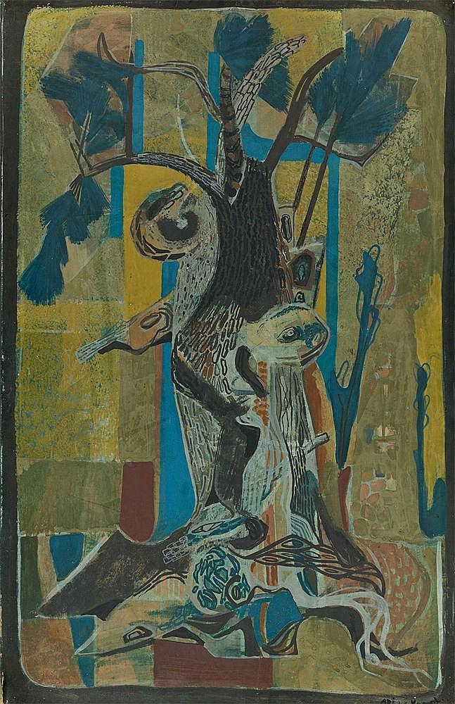 "Ari Walter Kampf, ""Olivenbaum"""