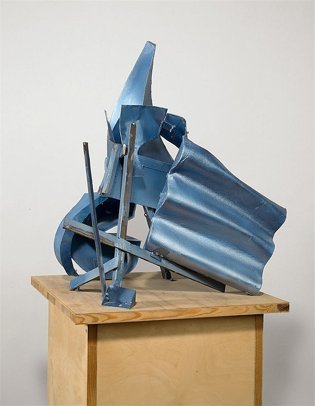 Thomas Kiesewetter, Untitled (Small Metallic Blue)