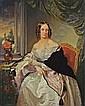 Leopold Fertbauer 1802 - Wien - 1875 DAMENBILDNIS