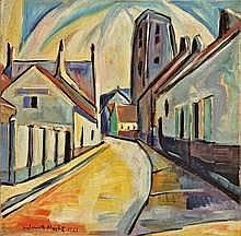 Helmuth Macke Krefeld 1891 - 1936 Hemmenhofen