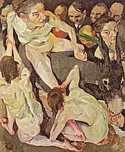 Johannes Grützke Berlin 1937 - lebt in Berlin