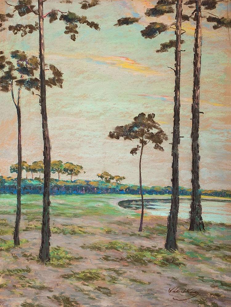 Leistikow, Walter Märkische Landschaft