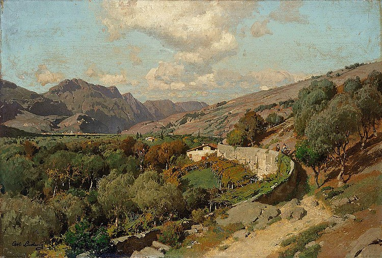 Ludwig, Carl Italienische Landschaft