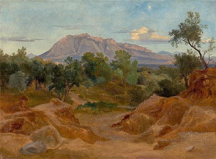 Friedrich Burghard Müller - Der Monte Soratte