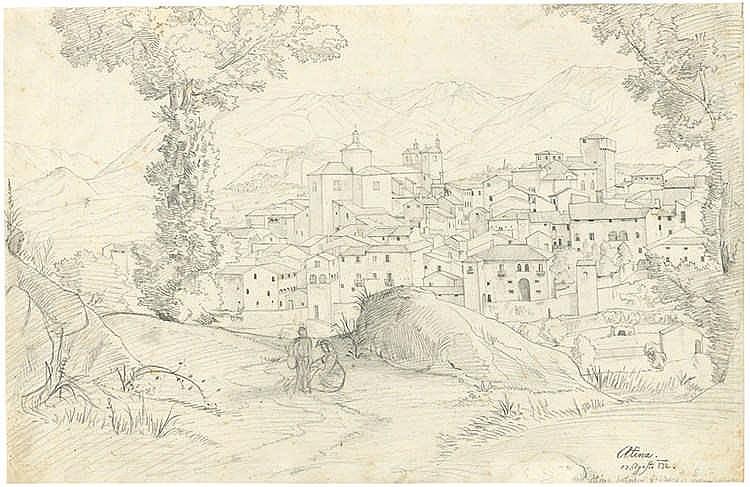 Benno Friedrich Thörmer - Ansicht von Atina