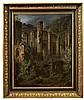 Friedrich August Elsasser - Gotische Kirchenruine in Gebirgslandschaft, Friedrich August Elsasser, Click for value