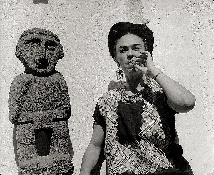 Gisèle Freund-FRIDA KAHLO, MEXIKO