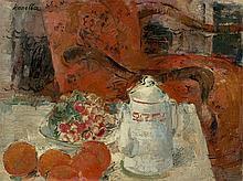 Raymond Kanelba - Still life in red