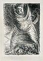 Ernst Barlach Wedel 1870-1938 Rostock AUS DEM NEUZEITLICHEN TOTENTANZ. 1916 Lithographie auf Japanbutten. 29,2 x 21 cm (11.5 x 8. 25 in.). Signiert. Laur 29, 4. Zustand.- [3046] EUR