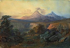 Rugendas, Moritz 1802 - 1858 Die Schlucht von Beltrán (Mexiko)