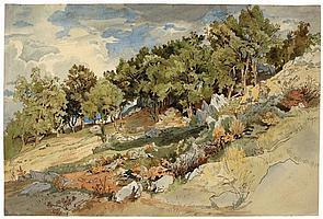 Mohn, Viktor Paul 1842 - 1911 In Italien