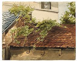 Mohn, Viktor Paul 1842 - 1911 Beranktes Dach