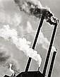 Abbott, Berenice 1898 - 1991 Smoke Stacks, Red River Logging Co., California