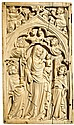 Paris 0 Coronation of the Virgin. Panel from a diptych