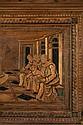 und sein Bruder Benedetto (1442-1497), genannt da Maiano (zugeschrieben), Giuli 1432 - 1490 Large Renaissance bench, cassa pancha