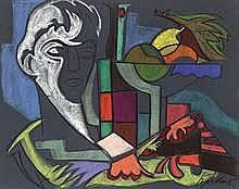 Rudolf Bredow Berlin 1909 - 1973 Bremen STILLEBEN