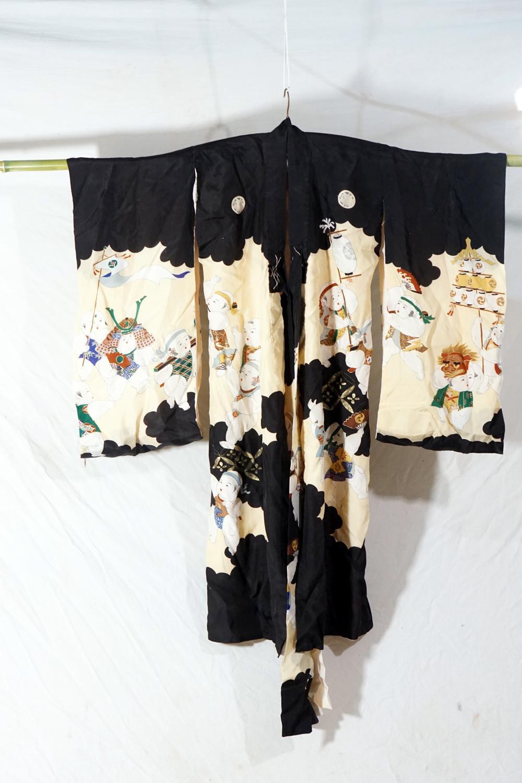 Traditional Japanese kimono size 79 * 95 cm