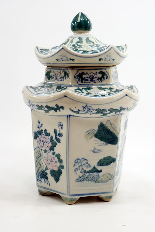 Japanese ceramics, height - 30 cm, diameter 18 cm
