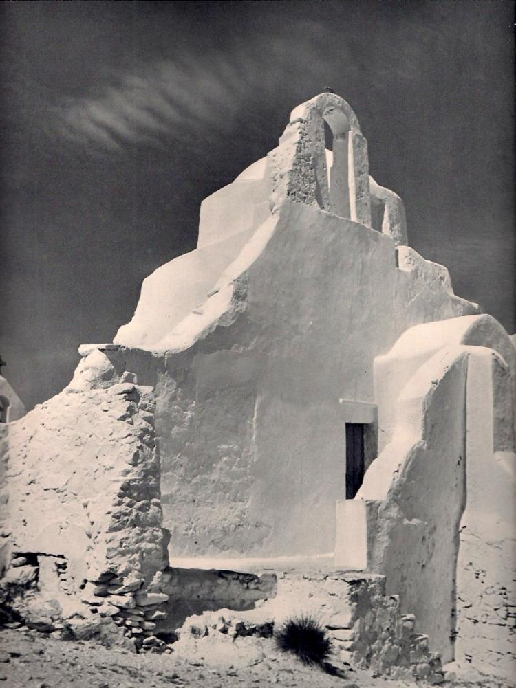 Gautherot, Marcel - Eglise a Mykonos (Grece)