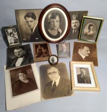 Lot of Antique Photographic Images