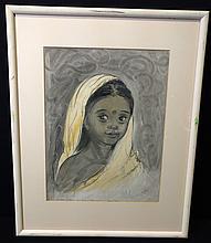 Elizabeth Orton Jones,(American, 1910-2005) Original Sketch Art.
