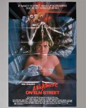 """Wes Craven """"A Nightmare on Elm Street"""" 1 sheet poster"""