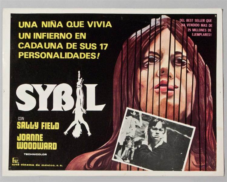 sybil in spanish poster