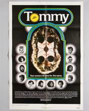 """""""Tommy"""" The Who 1 sheet poster"""