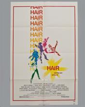 """HAIR"" 1 sheet poster"