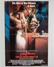 "Wes Craven ""A Nightmare on Elm Street 2 – Freddy's Revenge"" 1 sheet poster"