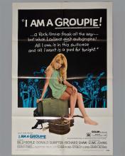 """""""I Am A Groupie"""" 1 sheet poster"""