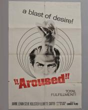 """""""Aroused"""" 1 sheet poster"""